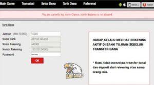 Tarik Dana/Withdraw Pada Situs Pkv Games